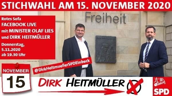 Rotes Sofa mit Olaf Lies Teaser