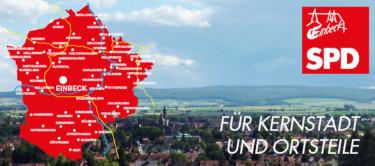Kernstadt und Ortsteile