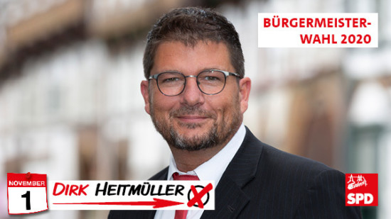 Bürgermeisterkandidat Dirk Heitmüller